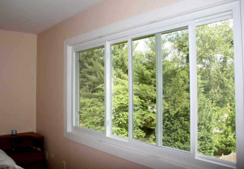 large sliding windows