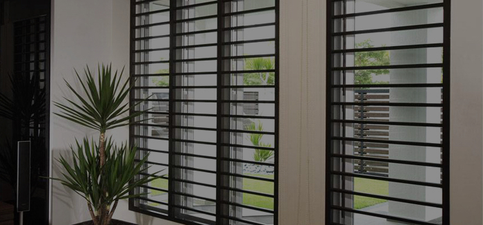 Modern window grilles
