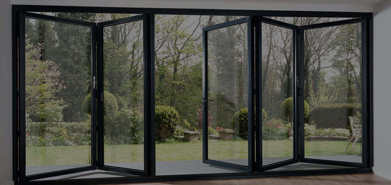 outdoor aluminium door