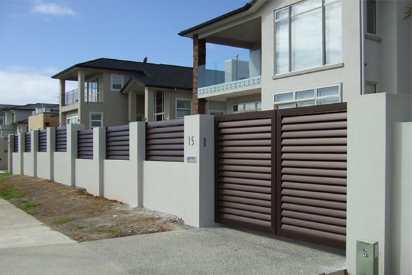 simple aluminium gate