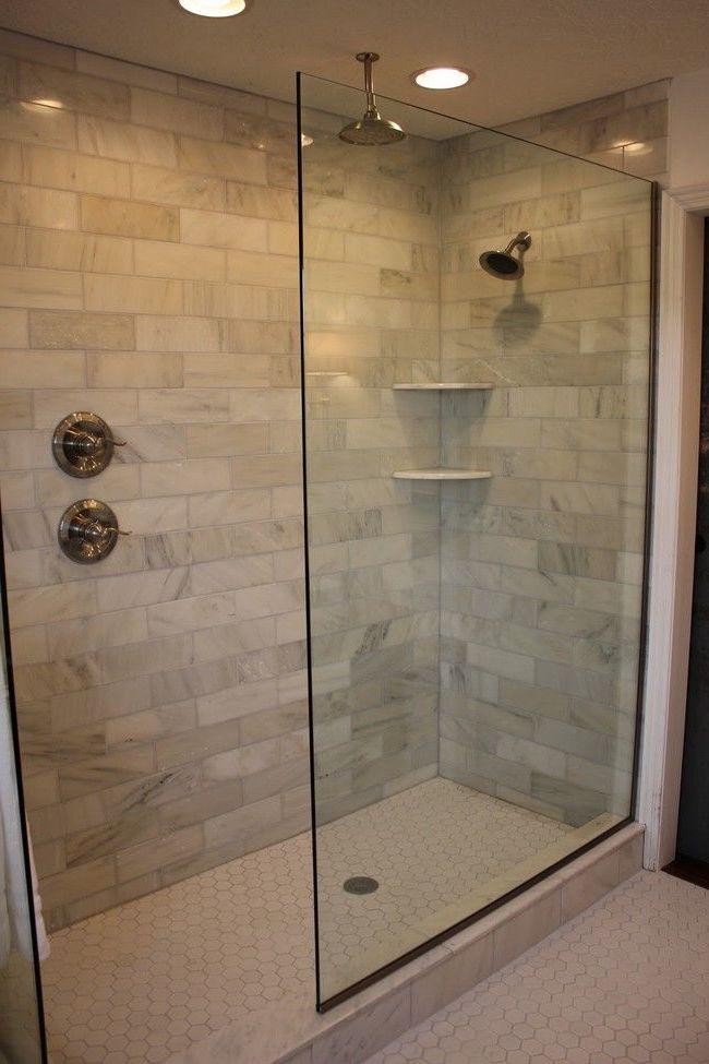 swing door shower screen