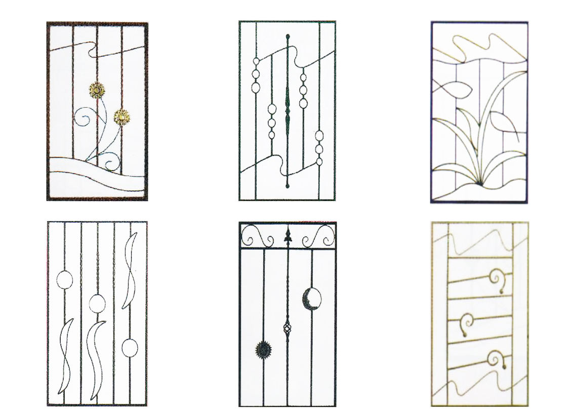 wrought iron grills design